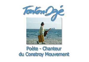 Tonton Dgé poète- chanteur du Constroy Mouvement around the Rade again
